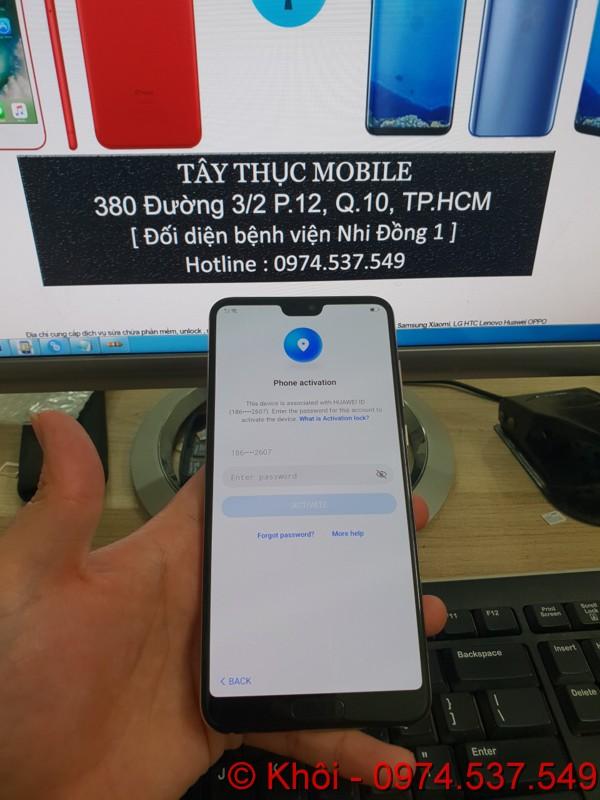 Xóa Huawei ID Mate 20